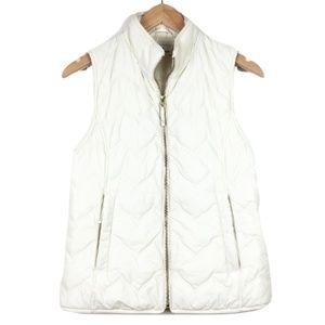 Vineyard Vines Cream Puffer Vest